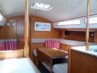 Saloon ~ Sensation ~ Bareboat Sailing Yacht Charters, Bay of Islands, New Zealand, NZ
